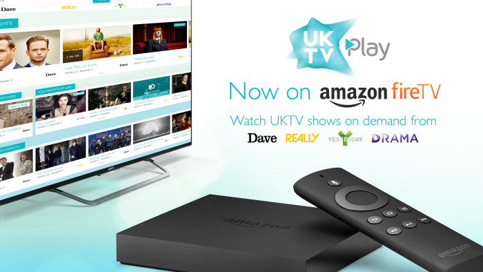 UKTV Play launches on Amazon Fire TV