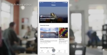 facebook video update