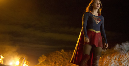 Supergirl - Series 01 Episode 01 Pilot Melissa Benoist as Supergirl. © Warner Bros. Entertainment, Inc 2015.