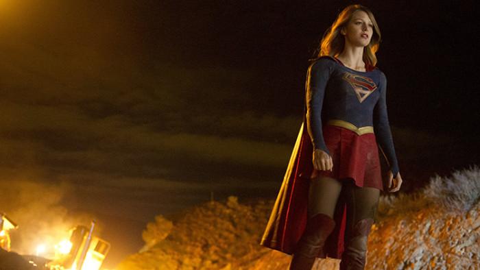 Supergirl lands on UK TV this October