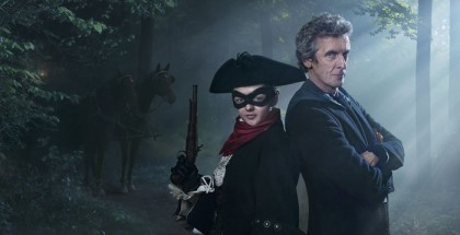 WARNING: Embargoed for publication until 00:00:01 on 20/10/2015 - Programme Name: Doctor Who   - TX: 24/10/2015 - Episode: THE WOMAN WHO LIVED (By Cath Tregenna) (No. 6) - Picture Shows: ***EMBARGOED UNTIL 20TH OCTOBER 2015*** Highwayman (MAISIE WILLIAMS), Doctor Who (PETER CAPALDI) - (C) BBC   - Photographer: Simon Ridgway