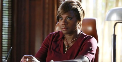 "HOW TO GET AWAY WITH MURDER - ""We're Not Friends"" - Annalise takes on a tough case defending a minor who fatally shoots his police officer father. Meanwhile, Annalise and Sam continue to argue over his relationship with Lila, and Wes and Rebecca begin to question Annalise's motives. In flash-forwards, we learn more about Laurel's relationship with Frank and why he was calling her the night of Sam's death, on ""How to Get Away with Murder,"" THURSDAY OCTOBER 23 (10:00-11:00 p.m., ET) on the ABC Television Network. (ABC/Mitchell Haaseth) VIOLA DAVIS"