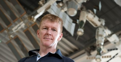 Programme Name: Stargazing Live: Brit in Space - TX: n/a - Episode: n/a (No. n/a) - Picture Shows:  Tim Peake - (C) BBC - Photographer: Max Alexander – UKSA