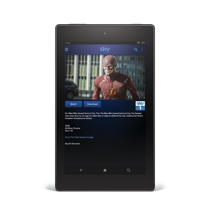 Sky Go arrives on Amazon Fire tablets