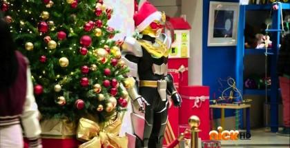 the power rangers christmas