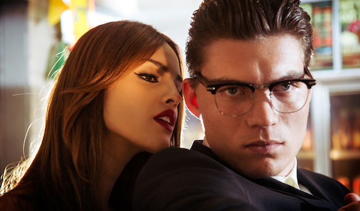 "Zane Holtz as Richie Gecko Eiza González as Santánico Pandemonium From the El Rey Network Original ""From Dusk Till Dawn: The Series"""