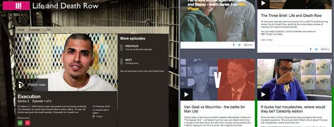 bbc three interface