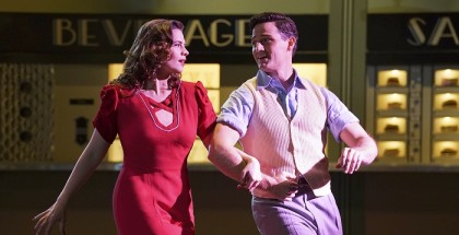 """MARVEL'S AGENT CARTER - """"A Little Song and Dance"""" - Peggy desperately tries to save Dr. Wilkes with a dangerous plan to stop Whitney Frost.  But Thompson makes a surprising move that could destroy them all, on """"Marvel's Agent Carter,"""" (ABC/Byron Cohen) HAYLEY ATWELL, ENVER GJOKAJ"""