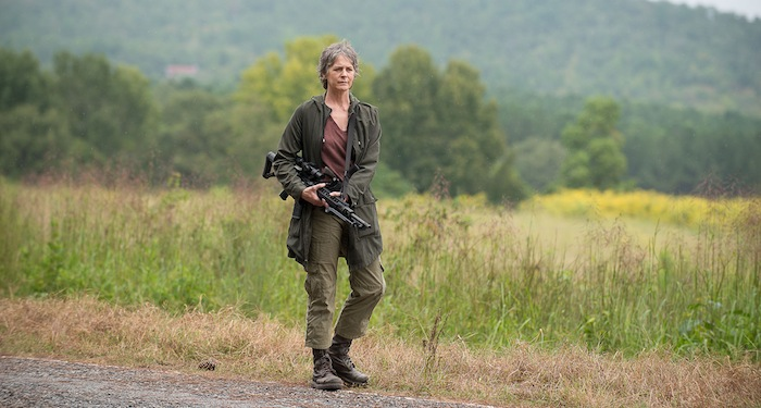 Melissa McBride as Carol Peletier - The Walking Dead _ Season 6, Episode 12 - Photo Credit: Gene Page/AMC