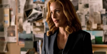 "Dana Scully (Gillian Anderson) in ""My Struggle II."""