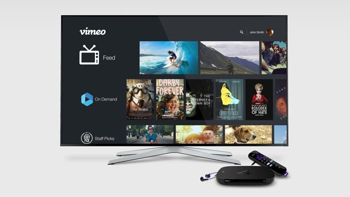 Vimeo brings On Demand purchases to Roku