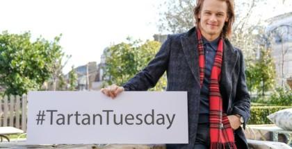 Tartan Tuesday Sam Heughan