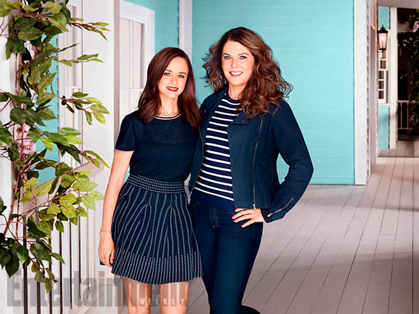 First images from Netflix's Gilmore Girls revival released