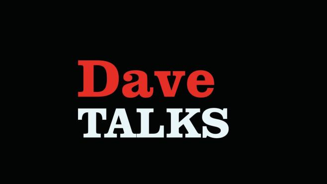 Dave takes on Ted with new spoof Dave TALKS