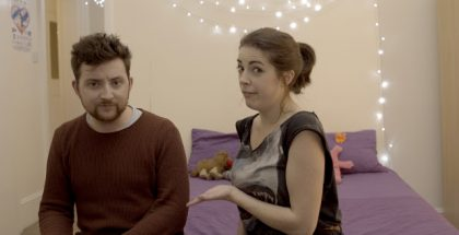 Mina Murray's Journal - John (Liam Dryden) is introduced to the web by Mina (Rosie Holt)