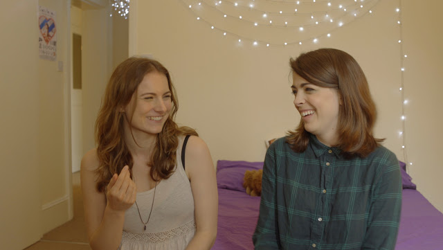 Mina Murray's Journal - Lucy (Kate Soulsby) jokes with Mina (Rosie Holt)