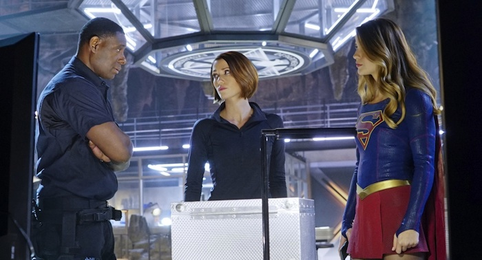 Supergirl Alex Hank