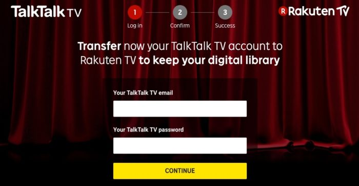 TalkTalk TV Store closes and moves to Rakuten TV