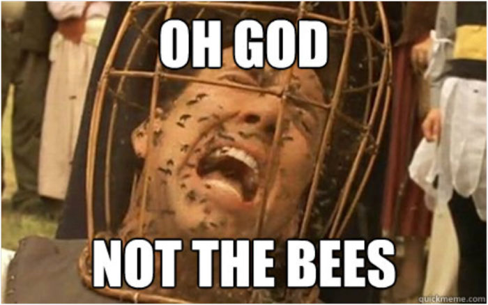 wicker man bees