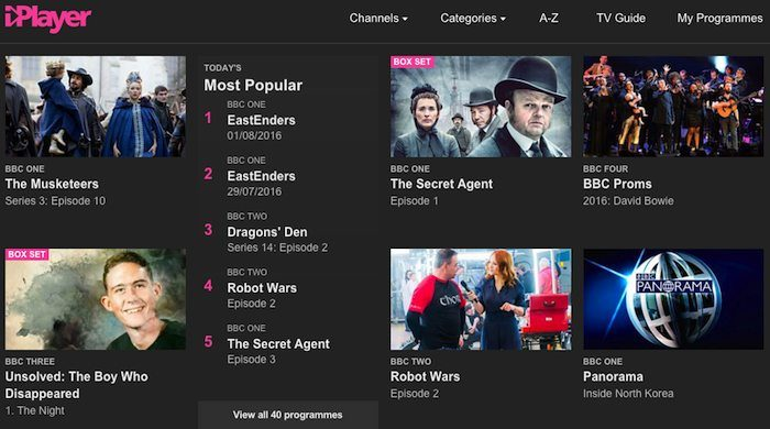 "BBC iPlayer aims to be ""number one online TV service"""