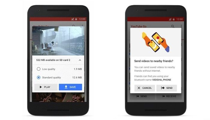 YouTube Go: YouTube goes offline with new app
