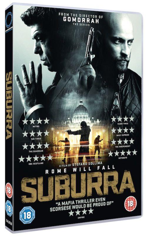 suburra dvd packshot