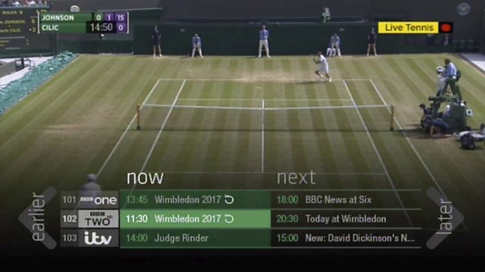 BBC iPlayer adds live restart to TV guides