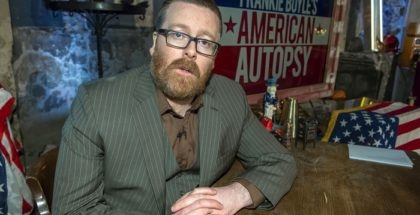 Programme Name: Frankie Boyle's American Autopsy - TX: n/a - Episode: n/a (No. n/a) - Picture Shows: Frankie Boyle - (C) Endemol Shine Group - Photographer: Brian J Ritchie