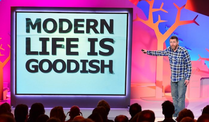 Catch up TV review: Modern Life is Goodish, This Time Next Year, Trading History, The Next Great Magician