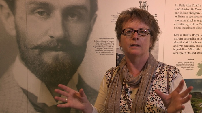 Trading History - Episode 1 - Picture Shows: Helen O'Carroll, Kerry County Museum curator