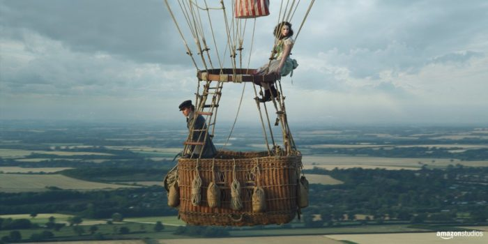 First look: Felicity Jones and Eddie Redmayne in Amazon's The Aeronauts