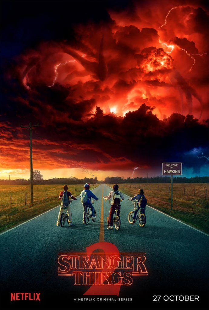 stranger things s2 poster