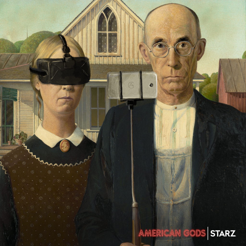 American Gods - Grant Wood's American Gothic