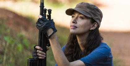 Christian Serratos as Rosita Espinosa - The Walking Dead _ Season 7, Episode 14 - Photo Credit: Gene Page/AMC