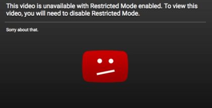 restricted mode