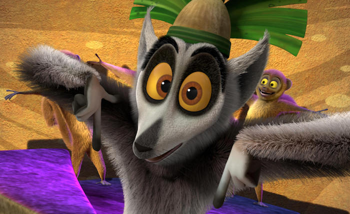 All Hail King Julien- Exiled