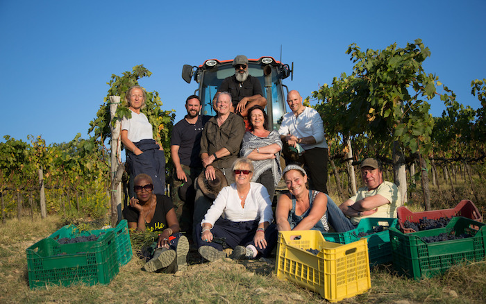 Programme Name: Second Chance Summer: Tuscany - TX: n/a - Episode: n/a (No. n/a) - Picture Shows: (back to front, left to right) Altaf Majeed, Karen Walker, Rob Seddon, Andy Desmond, Lesley Collins, Robert Dent, Chi E, Tracy Williams, Gill Hall, Gavin Patterson - (C) Two Four - Photographer: Alex Bryant