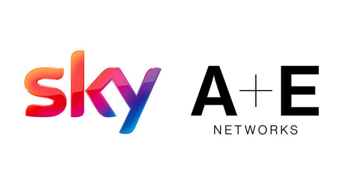 Sky and A+E Networks extend agreement across Europe