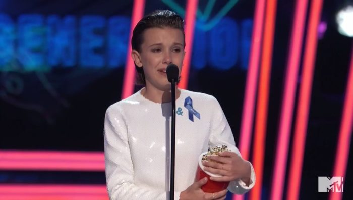 Stranger Things crowned Show of the Year at MTV Awards