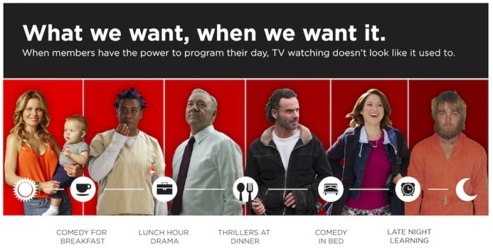 The Netflix TV diet: Comedy for breakfast and thrillers for dinner