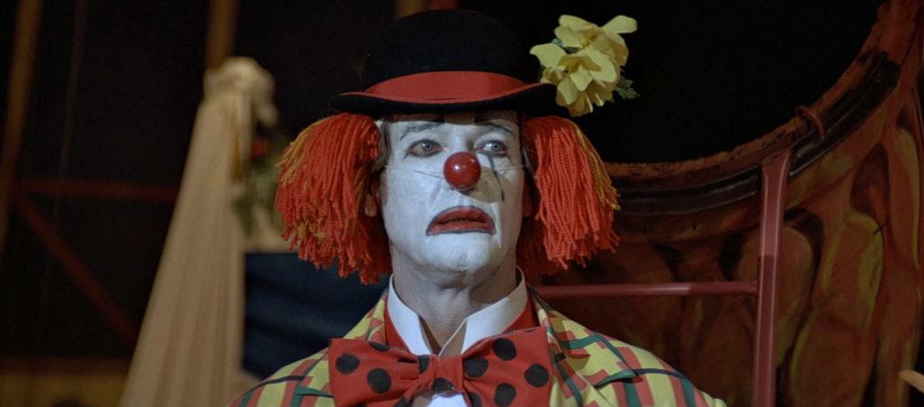 roger moore clown