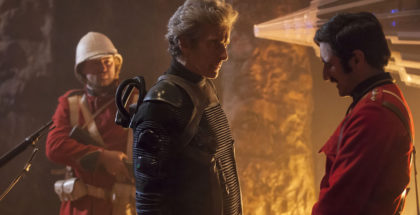WARNING: Embargoed for publication until 00:00:01 on 06/06/2017 - Programme Name: Doctor Who S10 - TX: 10/06/2017 - Episode: Empress of Mars (No. 9) - Picture Shows: ***EMBARGOED UNTIL 00:01hrs 6th JUNE 2017*** The Doctor (PETER CAPALDI), Catchlove (FERDINAND KINGSLEY) - (C) BBC/BBC Worldwide - Photographer: Jon Hall