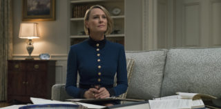 House of Cards will resume in 2018 with Robin Wright in the lead