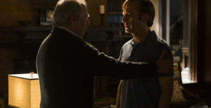 Michael McKean as Chuck McGill, Bob Odenkirk as Jimmy McGill - Better Call Saul _ Season 3, Episode 10 - Photo Credit: Michele K. Short/AMC/Sony Pictures Television