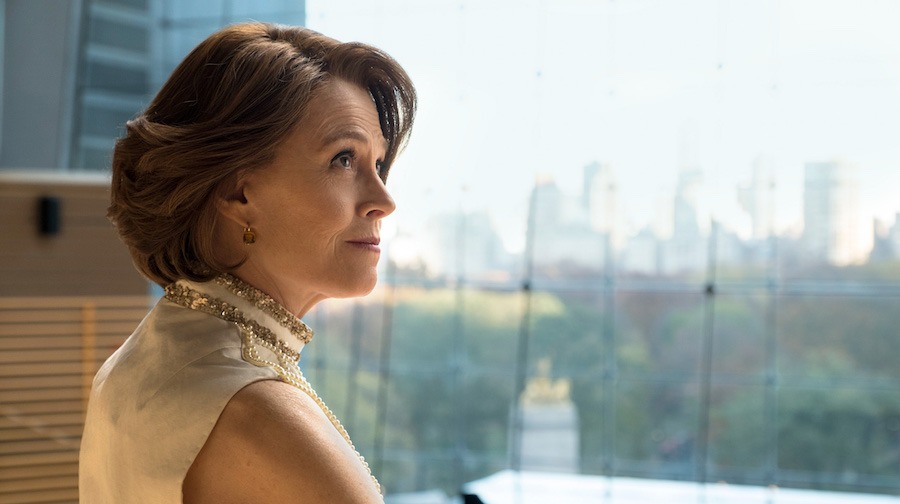 The Defenders (2017) Sigourney Weaver as a TBD Villian. Season 1, Episode 2