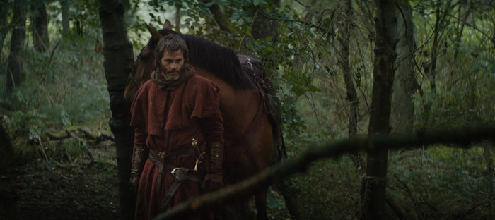 First look: Chris Pine as Robert the Bruce in Netflix's Outlaw King