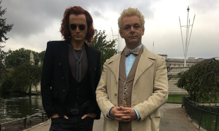 First look: David Tennant and Michael Sheen in Good Omens