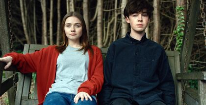 The End of the F***ing World: - Episode 1 (Alex Lawther as James. Jessica Barden as Alyssa.)