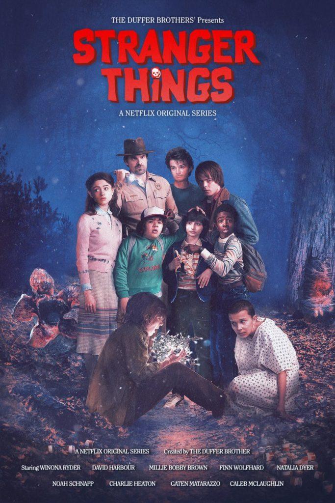 stranger things poster 3