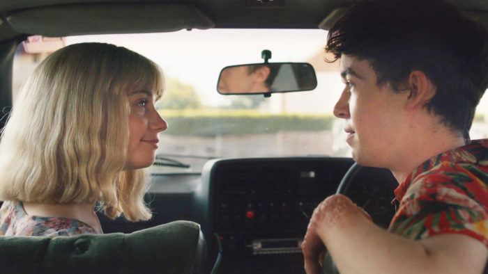 Alex Lawther & Jessica Barden in Netflix Comedy The End Of The F***ing World